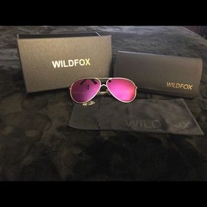 Wildfox women aviator sunglasses